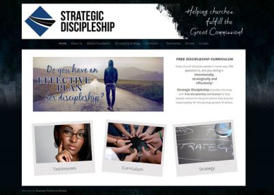 Strategic Discipleship